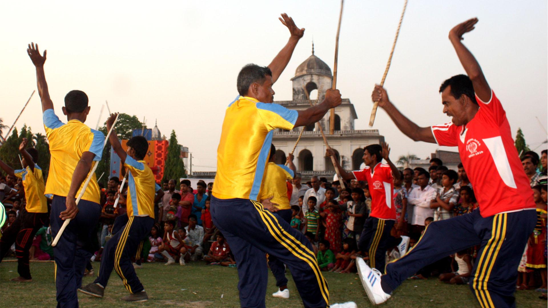 ১৩তম বাংলা লোকনাট্য উৎসব ২০১৫ (লাঠিখেলা)